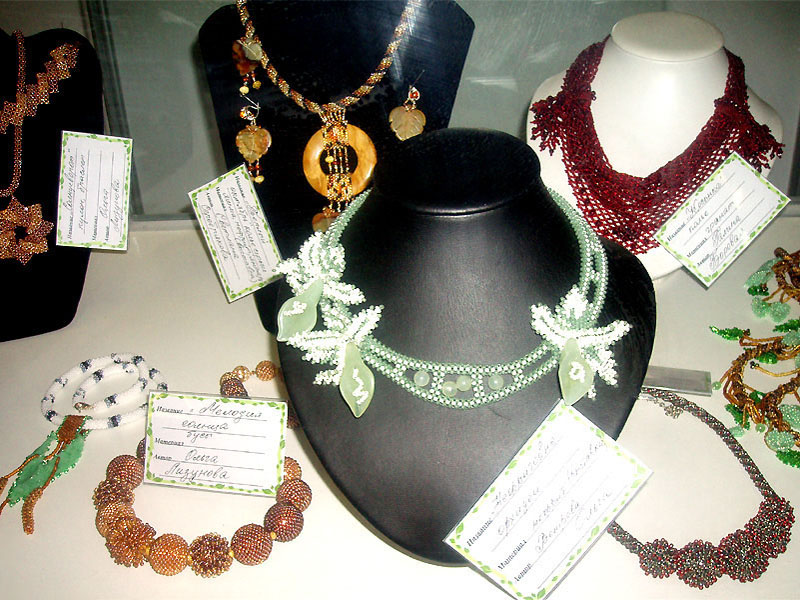Jewelry by the members of the Freelance Artisans Partnership