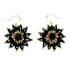 "Earrings ""Black Stars"""
