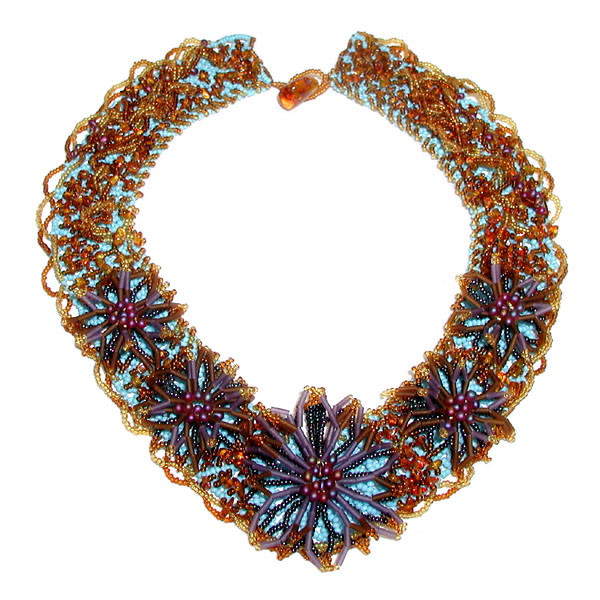 Fire Mountain Gems and Beads 2008 Contest Winner: Shahrazad Necklace