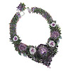 Mid Summer Night's Dream Necklace in charoite by Zoya Gutina