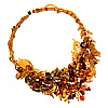 Amber Forest Necklace