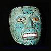 A Mayan mask, made of jade
