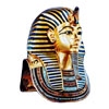 The Mask of Tutankhamun with incrustation of lapis lazuli