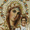 Russian beaded icons