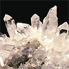 Quartz crystal group from Arkansas, USA