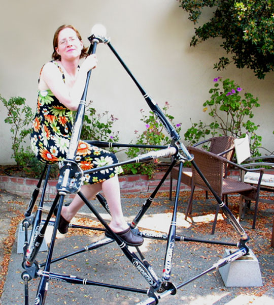 Gwen Fisher and her Bat Country project