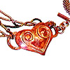 Hot Copper Mix Necklace by Zoya Gutina