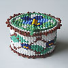 How to weave beads on a loom