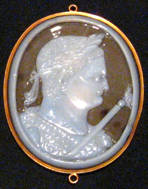 Cameo with the head of Titus