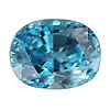 Faceted zircon