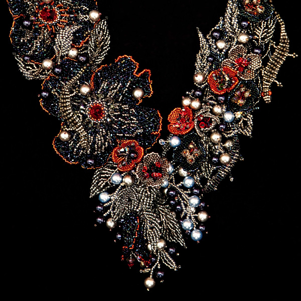Art Nouveau Restored Necklace by Zoya Gutina