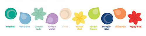 Colors of Spring 2013 by Pantone