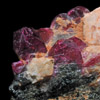 Rubellite crystals from Madagascar