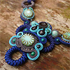 Soutache jewelry by Csilla Papp