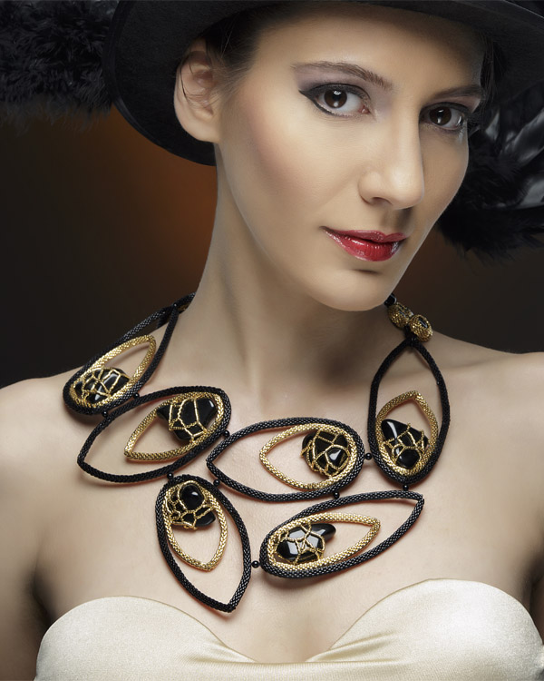Beaded jewelry by Cleopatra Cosulet