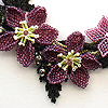 Beaded jewelry by Patricia Parker