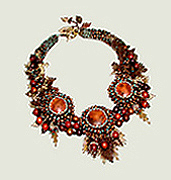 Wearable Expressions 2008 Contest Finalist: Autumn Splendor Necklace